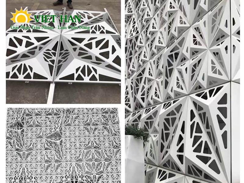 Kiến tạo đẳng cấp công trình với tấm ốp nhôm đục lỗ